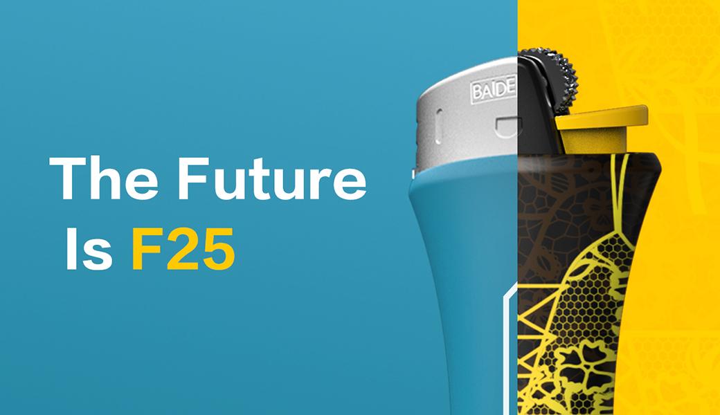 全新的设计,未来的F25
